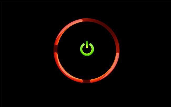 Red ring 360 of the Xbox games console